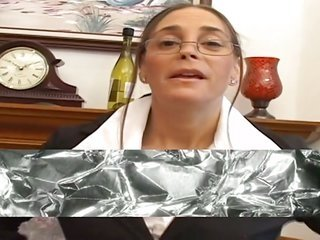 Nerdy angel libido to soak up with black cock