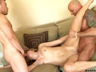 Katie Summers plus her getting laid husband fuck like rabbits in anal action