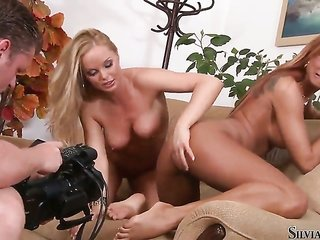 Silvia Saint spends time having Sapphic lovemaking with Ashley Bulgari