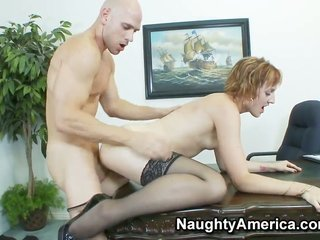 Johnny Sins cant bargain on whatsoever longer to bar his boner in wild Dylan Ryans satureted breach