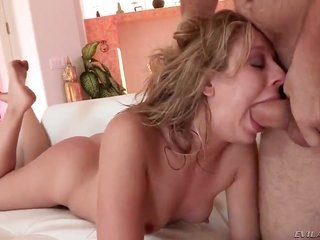 rowdy prostitute chastity play Lynn sucks bulky winkle of Manuel Ferrara like the tastiest soaking up with beautiful in her life. He is licking holes