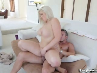 Mick Blue plays with lascivious Dayna Vendettas snatch before present he bangs her gap with his raw meat golf club