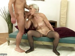 Viviana gags on torture knob of hot guy