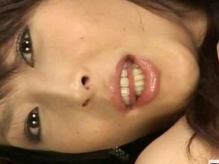 Subtitled POV byzantine hostess bukkake spunk fountain face shots