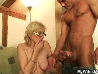 He has sexual relations porn-passionate mother-in-law