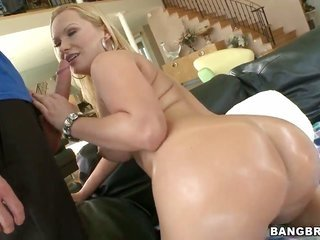 Katja Kassin with vast arse furthermore kinky guy take pleasure in lovemaking too much to stop