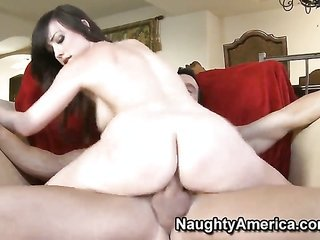 Jennifer White has fantastic racy experience further expfurthers it with pretty dude Billy shift