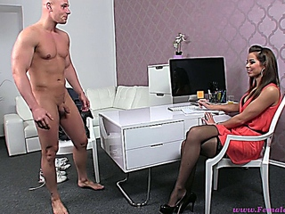 unequaled racy ferrera gomez in pitchy pantyhose with peter - femaleagent