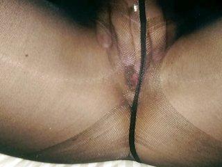 nylons orgasm