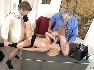 Brittany young woman B gives slutty unexplainable mouth job steely cocked guy
