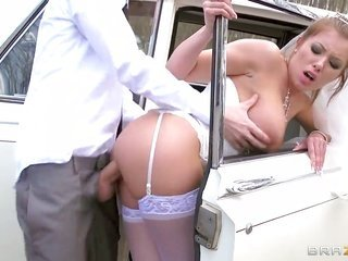 Danny D besides sweet bride Donna Bell are in place 'cuz a hardcore fuck