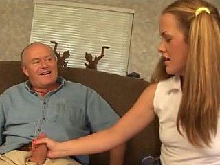 Old chap butt fuck a schoolgirl