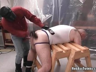 dirty excessive comrade collects down on his knees over and above blows penis