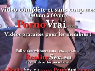 Beurette sodo anal en Gang strike ! French beginner
