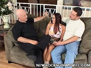 curvy Cheating Wife Striptease