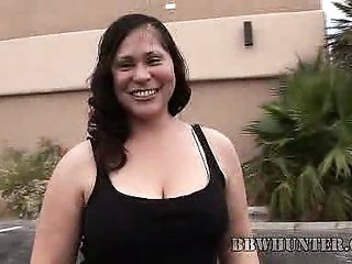 BBW Teedra comes into To Work