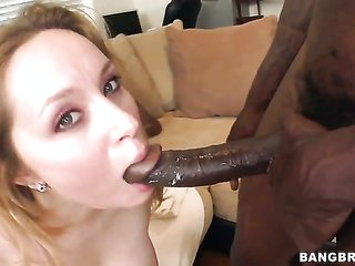 Aiden Starr with bubbly arse cant stop banging in interracial maneuver