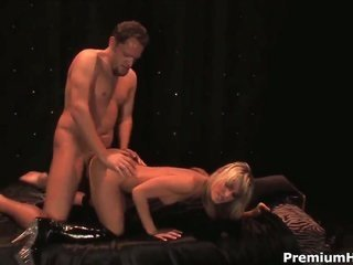 Courtney Simpson knows no limitations when it comes to mopping up her fuck buddys fella meat