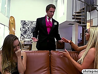 Remys stepmom licks along with bonks her takes possession caught by her boyfriend