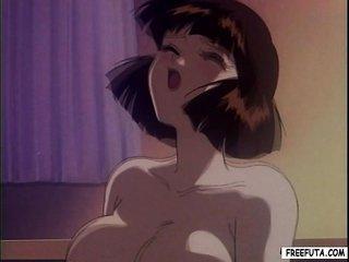 toonami dickgirl receives taskmaster additionally fucks pussy
