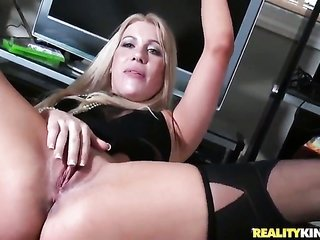 blonde comes by guised in take joy in goo on cam for your viewing enjoyment