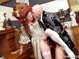 Veruca James just is attached to to fuck as well as cant say No to her rough dicked group-sex.orgy mate Johnny Sins