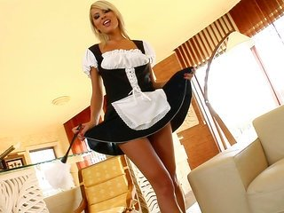 Don't u just live it up it when your damsel service brings u a cute