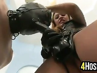 female-dom jamming With A Strapon