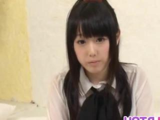 Machiko sucks besides has sexual relations crude penis