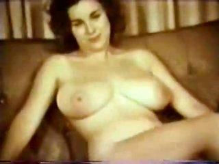 Vintage huge bust playgirl Posing