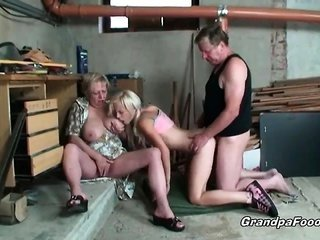 incomparable blonde enjoys hardcore trio