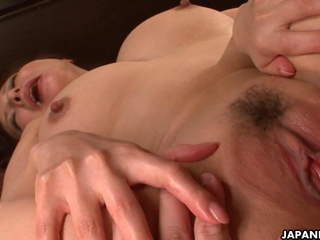 curvy pertaining to the Orient MILF enjoys riding on a massive tough cock
