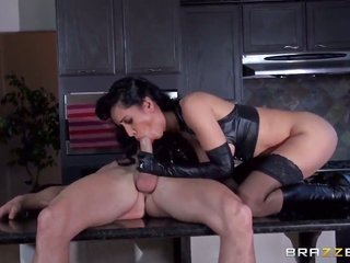 Senora Isis have a good time with more extensive hooters lets Johnny Sins put his rod in her twat