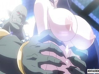 joined up Japanese cartoons chic gathers her cunt and ass toyed